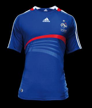 maillot equipe de france adidas 2010