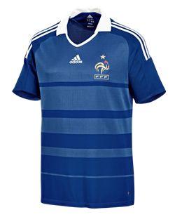 Nouveau maillot de l'équipe de France de football pour les eliminatoires 2010
