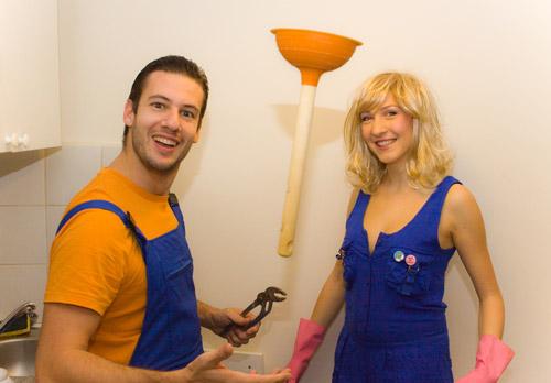 Barbie & Ken essayent de jongler