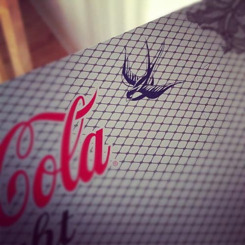 Coca Cola Light by Jean-Paul Gaultier - Photo Instagram