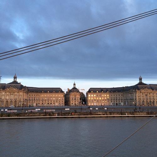 Belem et Place de la Bourse à Bordeaux